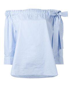 LAREIDA | Striped Off Shoulder Blouse Size 38