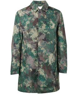 MACKINTOSH | Camouflage Midi Coat 54