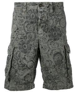 Incotex | Print Cargo Shorts