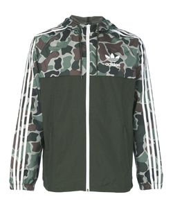 adidas Originals | Camouflage Print Windbreaker Jacket