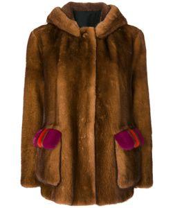 Blancha | Fur Detail Coat