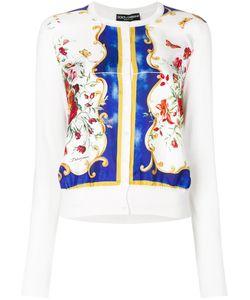 Dolce & Gabbana | Кардиган С Цветочным Принтом