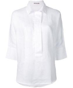 Hemisphere   Relaxed Placket Shirt Size Large
