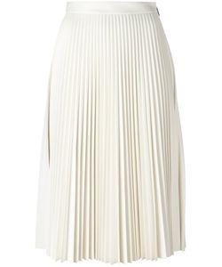 MSGM | Pleated Midi Skirt 40 Polyester/Viscose/Polyurethane