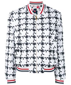 Thom Browne | Embroidered Bomber Jacket