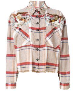 As65 | Bird Shoulder Frayed Shirt Size
