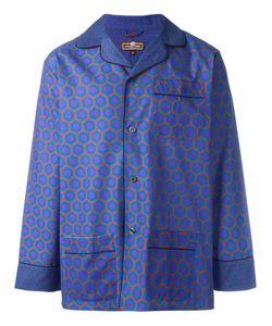 OTIS BATTERBEE | Burgundy Cravat Pyjama Set Xl Cotton