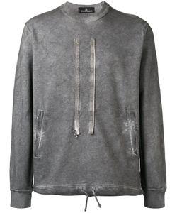 STONE ISLAND SHADOW PROJECT   Zip Detail Sweatshirt Size Large