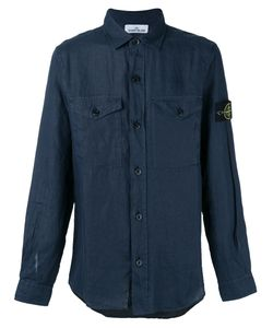 Stone Island | Arm Patch Shirt Size Small