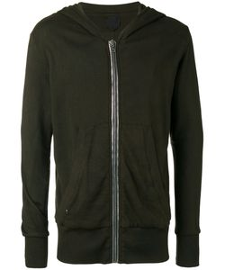 ROAD TO AWE | Zipped Hooded Jacket Large Cotton