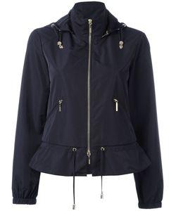 ARMANI JEANS   Zip Up Hooded Biker Jacket Size 46