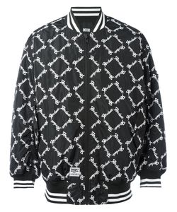Ktz | Square Latin Bomber Jacket Large Polyester