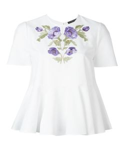 Alexander McQueen | Embroide Blouse 46 Cotton