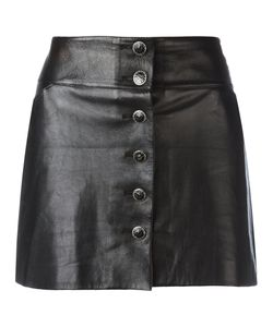 Chanel Vintage | Leather Mini Skirt 42