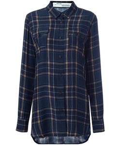 OFF-WHITE | Plaid Shirt Small Silk