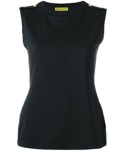 Versace Jeans | Appliqué Button Top Size 42