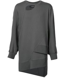 BYUNGMUN SEO | Cut-Out Asymmetric Sweatshirt 50 Cotton