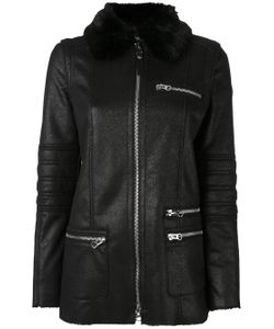 ARMANI JEANS | Fur Collar Coat