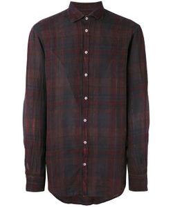 Massimo Alba | Check Canary Shirt