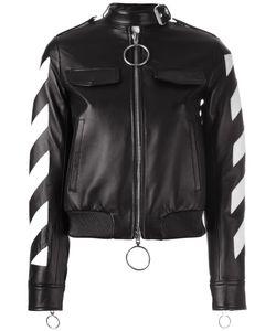 OFF-WHITE | Contrast Zip Up Jacket Medium