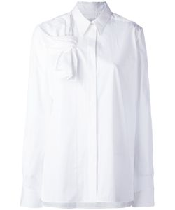 Victoria, Victoria Beckham | Victoria Victoria Beckham Tie-Front Shirt Size 8