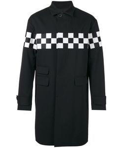 Dsquared2 | Single Breasted Checkboard Coat