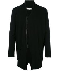 Isabel Benenato | Zipped Cardigan Medium Viscose/Spandex/Elastane