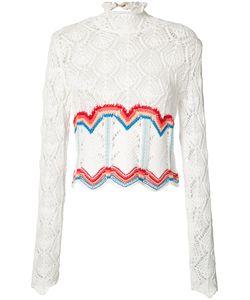 Peter Pilotto | Crochet Rainbow Top Size Medium
