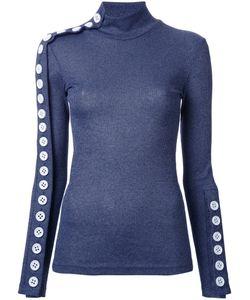 Christopher Esber | Button Down Sweatshirt