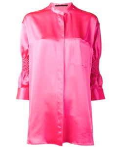 Haider Ackermann | Shirt With Smocked Sleeves