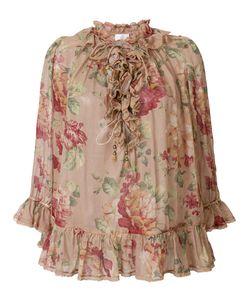 Zimmermann | Блузка С Цветочным Принтом