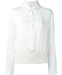 DKNY | Classic Shirt Small Silk/Spandex/Elastane/Merino