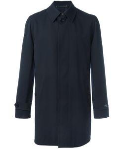 Ermenegildo Zegna | Classic Mid Coat 52 Wool/Cupro/Lamb Skin