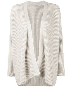 DUSAN | Relaxed Fit Open Cardigan Silk/Linen/Flax/Cashmere