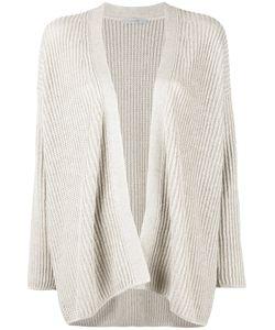 DUSAN | Relaxed Fit Open Cardigan Silk/Linen/Flax/Cashmere