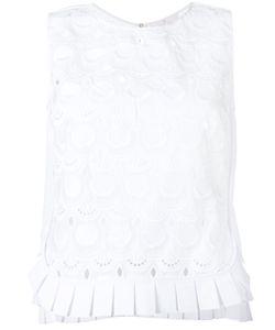 CAPUCCI | Embroide Tank Top 44 Cotton