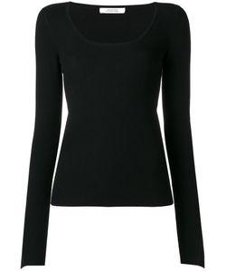 Dorothee Schumacher   Fla Sleeve Knitted Blouse 3 Elastodiene/Polyamide/Virgin
