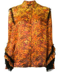 Roberto Cavalli | Рубашка С Цветочным Принтом