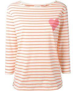 Chinti And Parker | Breton Stripe T-Shirt Medium Cotton
