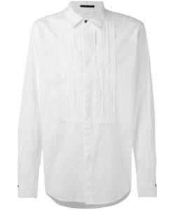 THE VIRIDI-ANNE   Pleated Front Shirt