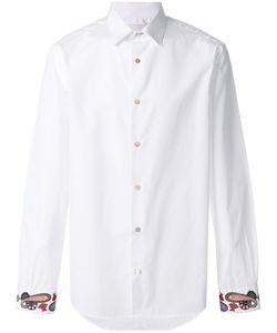 Paul Smith | Рубашка С Принтом Пейсли На Манжетах