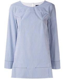 Piazza Sempione | Поплиновая Полосатая Рубашка