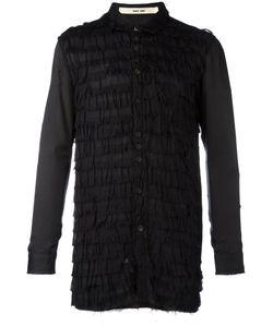 Damir Doma | Layered Frayed Shirt Size Medium