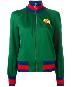 Gucci   Embroide Bomber Jacket Xs Cotton/Polyester