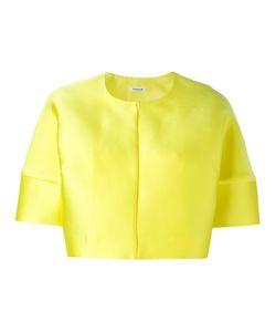 P.A.R.O.S.H. | Short Sleeved Crop Length Jacket Medium Polyester/Silk
