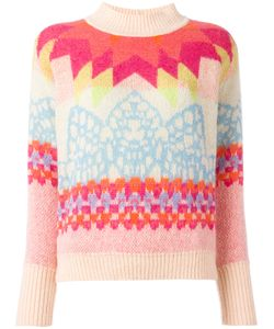 Temperley London | Colour Block Jumper Small Virgin Wool