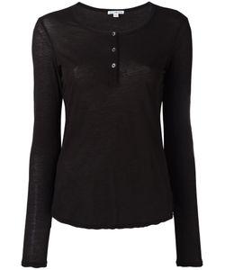 James Perse | Henley T-Shirt Size Iii
