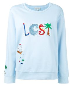 Mira Mikati | Embroidered Sweatshirt Size 34