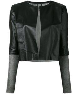 Aviù | Cropped Open Jacket Size Large