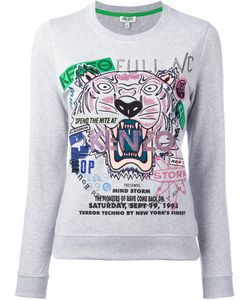 Kenzo | Tiger Slogan Print Sweatshirt Size Xs